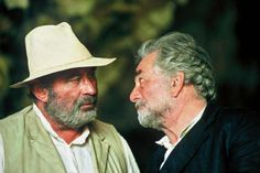 Bob Hoskins and Peter Falk star in The Lost World. The Long Good Friday, Columbo Peter Falk, The Lost World, Celebs, Star, World, Lost, You Lost Me, Celebrities