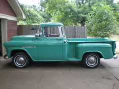 Perfect for hauling my vintage camper1955 Chevy-a very good year and the perfect color :)