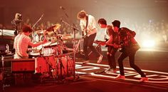 """141029 [CNBLUE] Arena Tour """"WAVE"""". It also needs teamwork to make a dream works. cr: Anne"""