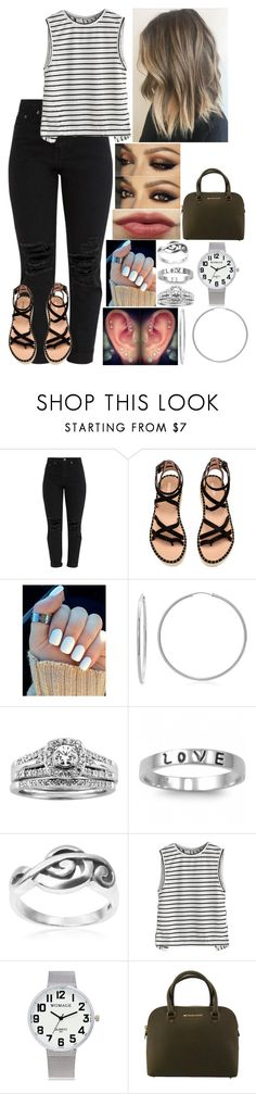 """Untitled #3297 - 7/4/17 - HAPPY FOURTH OF JULY"" by nicolerunnels ❤ liked on Polyvore featuring J.A.K., Sterling Essentials, A.Jaffe, Fantasy Jewelry Box, Tressa and Michael Kors"