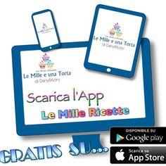 Scopri la nostra App LE MILLE RICETTE, è GRATUITA !