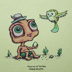 Artist Of The Day MARQ SPUSTA #Hemp #PureHemp #ProudSponsorOfTheArts #MarqSpusta #SpustaGnomes