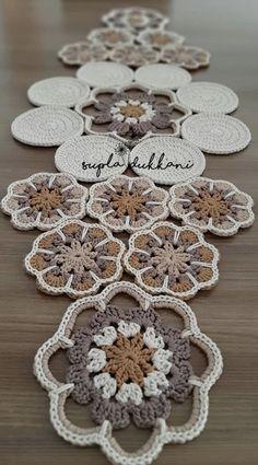 Crochet Crafts, Crochet Projects, Crochet Designs, Crochet Patterns, Crochet Decoration, Beautiful Crochet, Doilies, Crochet Stitches, Needlework