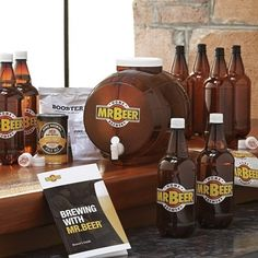 34. Mr. Beer #Brewing Kit - 45 Best Gifts for Men - Your #Ultimate Guide to Top #Gifts for Him ... → #Lifestyle #Designer