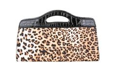 Women's Cheetah/Leopard Print Extended Clutch Handbag Purse Wallet Accompanied with Faux Pattern Animal Print Clutches, Melie Bianco, Large Handbags, Purse Wallet, Cheetah, Crocs, Bag Accessories, Purses, Animals