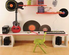 Resultado de imagen para decoracion para cuarto de rockero