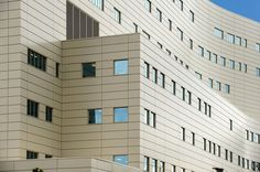 Vitrabond is a lightweight metal composite cladding panel ideal for external facades fasciae and sun blades It consists of two aluminium or other natural metal cover shee. Cladding Panels, Metal Cladding, Wall Cladding, Composite Cladding, Entrance, Multi Story Building, Fire, Facades, Architecture