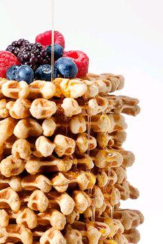 """verticalfood: """" Coffee Waffles """""""