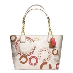 Coach Madison Whipstitch Tote