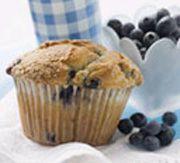 Recettes Québécoises.com - Muffins au gruau et bleuets
