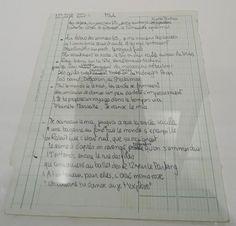 """Les manuscrit originaux de chansons sont toujours particulièrement émouvants. Celui-ci ne déroge pas à la règle, avec ses ratures et son papier de cahier Exacompta. """"Je danse le Mia"""" est un tube d'IAM paru sur l'album """"Ombre est Lumière"""", sorti en octobre 1993."""