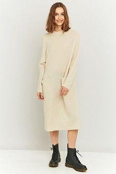 Light Before Dark Perfect Knitted Tunic Midi Dress