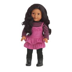 Newberry(TM/MC) 18'' Newberry East Indian Amber Doll