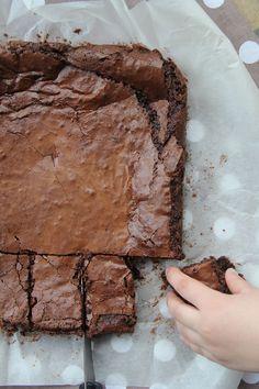 Extraordinaire brownie à la casserole, d'après Nigella Lawson