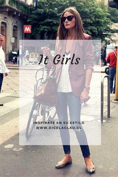 Las it girls que tienen el mejor estilo: Olivia Palermo, Miranda Kerr y Alexa Chung.