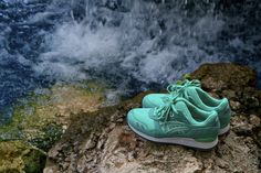 Here is a look at the next Asics and Ronnie Fieg collaboration. After working with the GT-II, Fieg returns to the Gel-Lyte III. Best Sneakers, Sneakers Nike, Asics Gel Lyte Iii, Sneaker Magazine, Shoe Game, Kicks, Mint, Footwear, Shoes