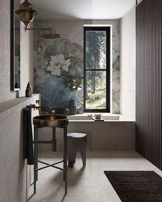 Love this bathroom design by , Poland . Outdoor Bathrooms, Closet Designs, Modern Masters, Interiores Design, Adobe Photoshop, Portfolio Design, Small Bathroom, Family Bathroom, Decoration