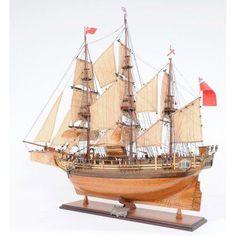 Old Modern Handicraft Hms Bounty Yacht - T107