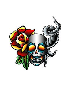 #oldschool #religion #skull #church #Fire #tattoo #tatooink #inkmunsk #beskrovny #trad #traditional #newschool #oldschooltattoo #tats #tattooing