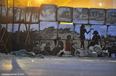 Let Us See The Sunlight  Graffiti by Alaa Awad  Photo by Jonathan Rashad