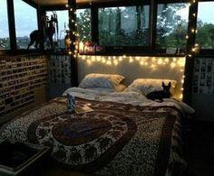 bedroom, decor, bohemian , boho