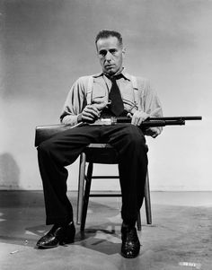 Bogart with a riot shotgun (from Tumblr)