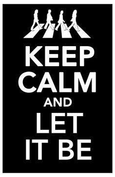 let it be.. let it be