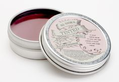 Vegan tinted lip and cheek balm - feels and smells so nice........
