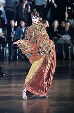 John Galliano for Christian Dior Tribute to Marchesa Luisa Casati 1998