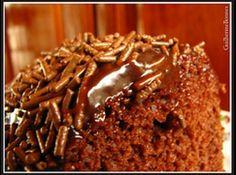 Receita de Bolo de Chocolate Prático sem Farinha - bolo delicioso para qualquer pessoa que aprecia chocolate! ...
