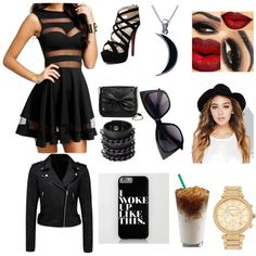 This Is How To Be A Heartbreaker! by ashencooper on Polyvore featuring polyvore fashion style Forever New Sam & Libby Michael Kors Mia Bag Carolina Glamour Collection Wet Seal