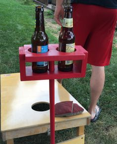 Yard Drink holders, cornhole, cup holder, games, backyard, gift, for him, party…