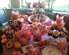 Tickled Pink baby shower awesome ideas for nene pink girl baby shower