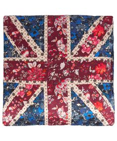 Liberty London Collections Red Union Jack Print Lavender Bag | Home accessories by Liberty London Collections | Liberty.co.uk