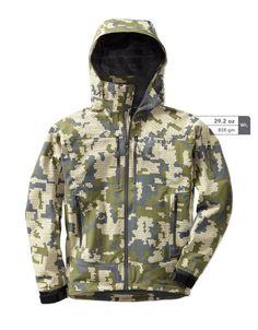 The Yukon Hunting Rain Jacket - 3-layer hard shell rain jacket designed by KUIU…