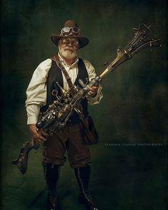 Old guy #steampunk #steampunkstyle #cosplay #steampunkcosplay
