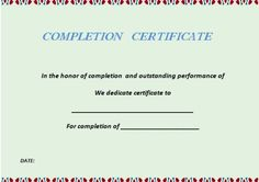 Building Completion Certificate Sample Amazing Pinmohd Aaqil On Certificate  Pinterest  Certificate
