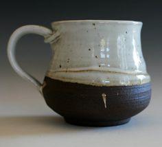 Large Coffee Mug 20 oz handmade ceramic cup tea cup by ocpottery