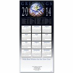 Wonderful World Z-fold Calendar | Holiday Greeting Cards | Deluxe.com