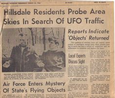 "Aliens Visited Michigan 50 Years Ago, Mass UFO Sighting With A Dozen Police Witnesses | <b><i><a href=""http://www.educatinghumanity.com"">Educating Humanity</a></i></b>"