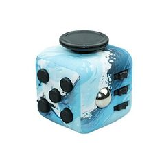 Sandalas Relieves Stress and Anxiety Cube for Children and Adults Anxiety Attention Toys (Sea Blue)