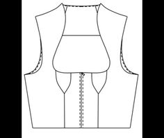 Dirndl & Trachtenkleider - PDF Patterns Dirndloberteil-115 Gr. 36-46 - a design piece from Toechterle123 on DaWanda