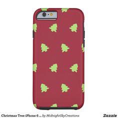 Christmas Tree iPhone 6 Case - Tough