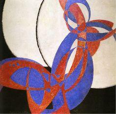 František Kupka, 1912, Amorpha, fugue en deux couleurs (Fugue in Two Colors), 210 x 200 cm, Narodni Galerie, Prague - Abstract art - Wikipedia, the free encyclopedia