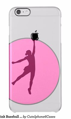Trendy Girly Pink Baseball Sport Lovers clear Clear iPhone 6 Plus Case Baseball sport iPhone 6/ 6S Plus case design ready be purchased or customized. A perfect gift for baseball, sport lovers Create and design your own iPhone 6 / 6S plus case that protect iPhone 6/ 6S plus. Customize a case by uploading photo, change image, or/and add text. We want to make iPhone 6/ 6S plus cases that make you feel special!  Click…