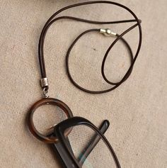 Eyeglass Holder Necklace Unisex. Magnetic Clasp by EyeglassHolder