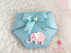 10 Blue Baby Shower Diaper invitations with pink elephant and blue bow, Nappy Invites for Christening, Baptism, Boy Baby Shower invitations by DreamCraftbyLucy on Etsy Diaper Invitations, Baby Shower Invitations For Boys, Baby Shower Favors, Baby Shower Themes, Baby Shower Decorations, Babyshower Invites, Shower Centerpieces, Shower Ideas, Baby Shower Diapers