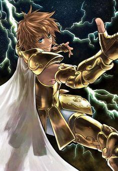 Leo Regulus   Saint Seiya - The Lost Canvas   http://www.pixiv.net/member.php?id=3670866