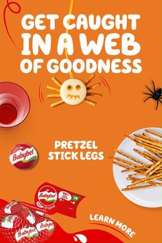 With 100% real cheese, you won't be scared of Babybel. These fall snacks are a surefire winner, and an easy Halloween party idea. Tap the Pin, and learn more.