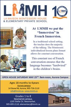 New in Newmarket, attend their open house on May Lesson Plan Format, Lesson Plans, French Immersion, Community Events, Private School, Open House, Public, Teacher, How To Plan